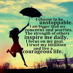 choose-to-be-unstoppable