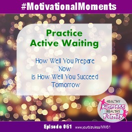 album Leslie Hassler Business Coaching Active Waiting