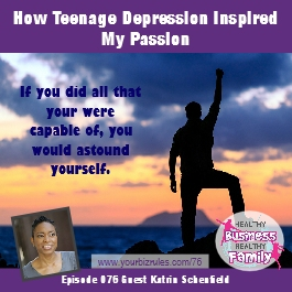 Album Katrina Schenfield Business Coaching How Teenage Depression Inspired My Passion