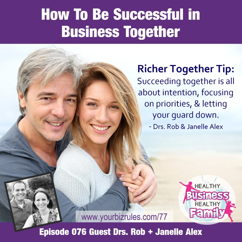 Rob and Janelle Alex Business Coaching How To Succeed In Business Together