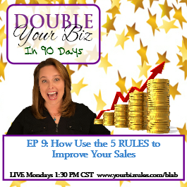 Album Business Coach Leslie Hassler How To Use The 5 RULES To Improve Your Sales