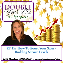 A Business Coach Double Your Business How To Boost Your Sales - Build Service Levels
