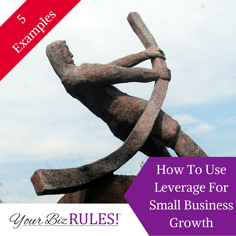 Leverage in your small business
