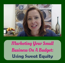 album Marketing Your Small Business On A Budget business coaching using sweat equity