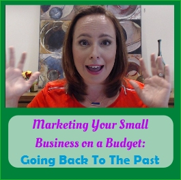 album Marketing Your Small Business On A Budget business coaching going back to the past