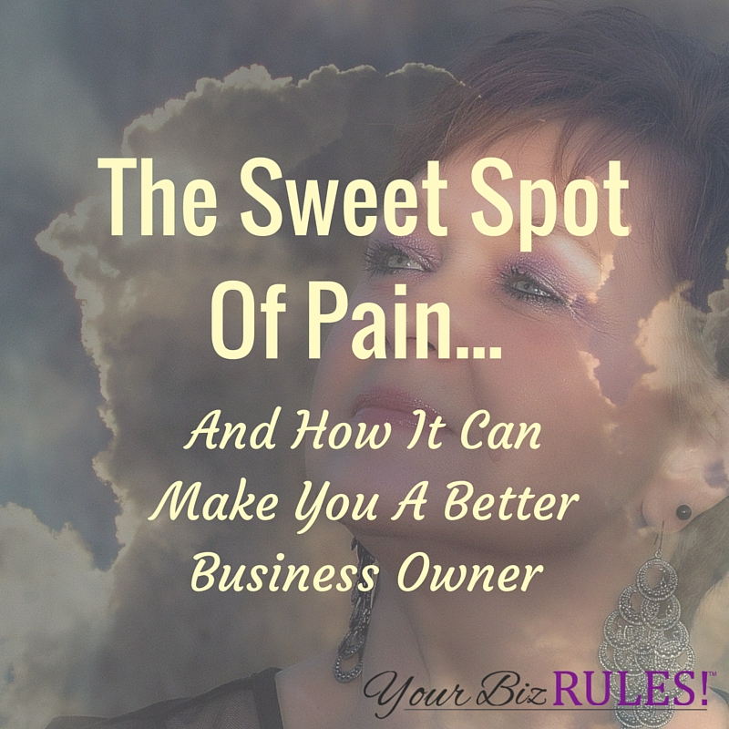 dealing with pain as a business owner