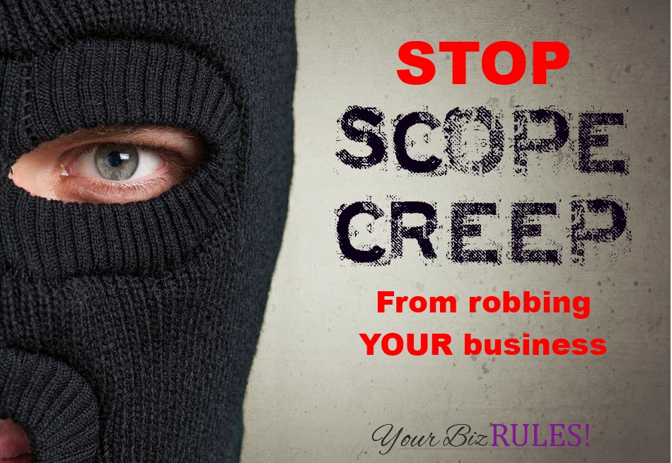 Smalll Business Coach Stop Scope Creep in Your Business Dallas Texas