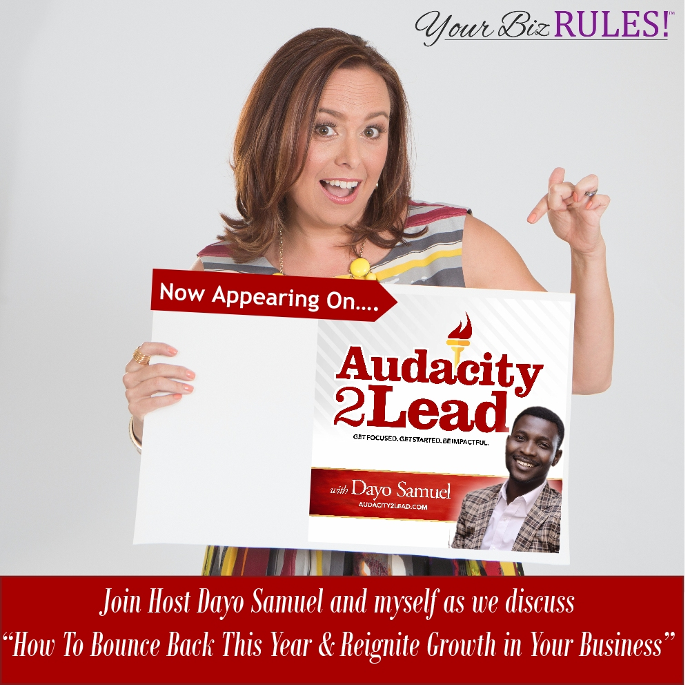 Dallas Small Business Coach appears on the Audacity 2 lead Podcast with Dayo Samuel