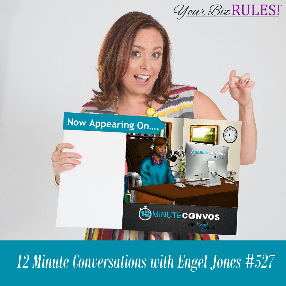 Dallas Small Business Coach appears on the twelve minute conversations with Engel Jones
