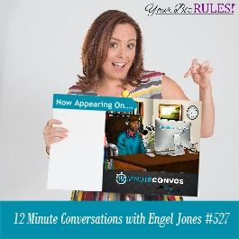 a Dallas Small Business Coach appears on the twelve minute conversations with Engel Jones