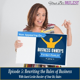 Dallas Small Business Coach appears on the Business Owners Freedom Formula Show